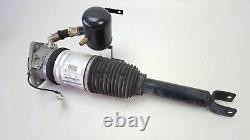 04-10 Audi A8 Suspension Strut Air Shock Rear Passenger Right Side Oem