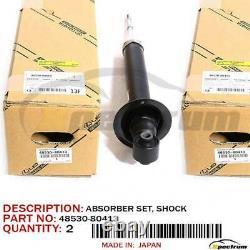 06-09 Lexus Is250/350 Factory Oem 48530-80413 Rear (lh+rh) Shock Absorber Set