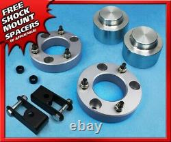 3 FT + 2 RR Lift Kit For 07-13 Avalanche 1500 2WD 4WD 6Lug + Shock Extenders
