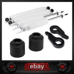 3 Front Keys + Rear Spacers Lift Kit Shocks Fits 2002-2006 Chevy Avalanche 1500