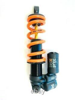 FOX DHX2 Factory 2 Position Adjustable Rear Coil Shock 210x50mm 550lb Spring