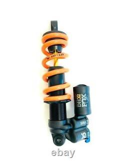 FOX DHX2 Factory 2 Position Adjustable Rear Coil Shock 210x52.5mm 550lb Spring