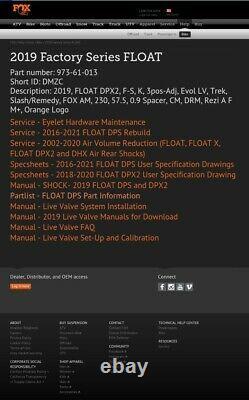 FOX FLOAT DPX2 FACTORY 230x57,5 LUFTDÄMPDER AIR SHOCK