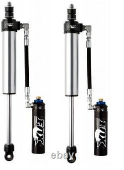 Fox 2.5 Factory Reservoir 0-1.5 Rear Shocks Pair for 03-21 4Runner / FJ Cruiser