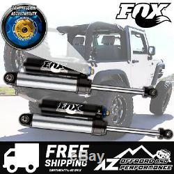 Fox 2.5 Factory Series Rear Reservoir Shocks withDSC For 07-18 Jeep JK 2.5-4 Lift