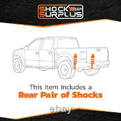 Fox 2.5 Factory Series Reservoir Shocks Rear Pair for 09-20 Ford F-150 4WD RWD