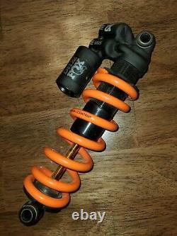 Fox DHX2 7.875x2 inch Factory Rear Shock Suspension